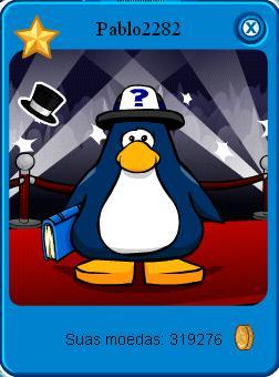 penguin do meu amigão pablo