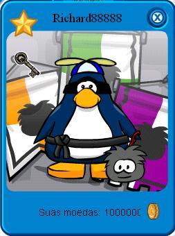 eu ganhei no BBP (big brother penguin)